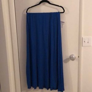 Lularoe Maxi, Bright Blue
